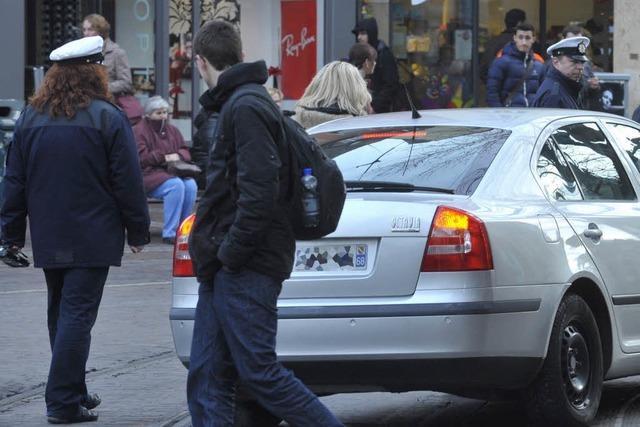 Gemeindevollzugsdienst warnt vor Kontrollen in der Freiburger Innenstadt