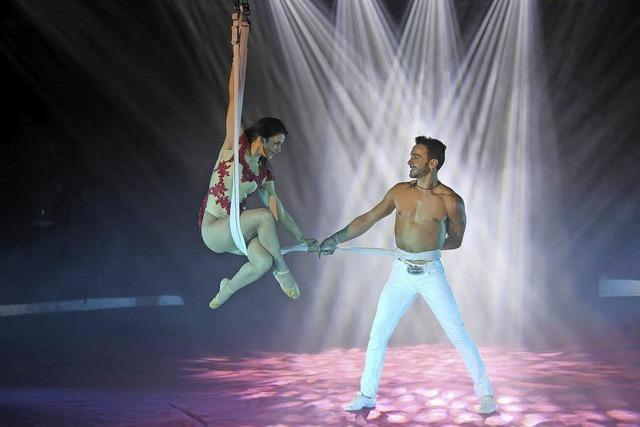 Ältester Schweizer Circus Nock gastiert in Basel