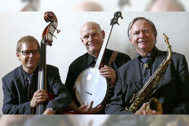 Dr. Wim's Trio Affair spielt New Orleans Jazz in Titisee