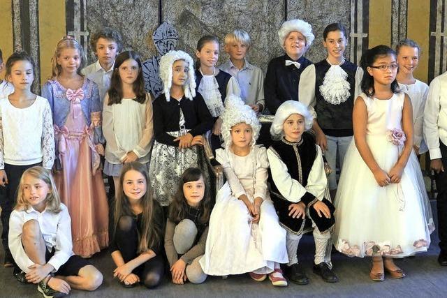 Junge Musikerinnen und Musiker erinnern an Mozarts Besuch in Donaueschingen vor 250 Jahren