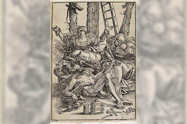 Warum Felix Reuße Hans Baldung Griens Holzschnitt