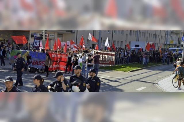 Marsch gegen Kultur des Wegsehens