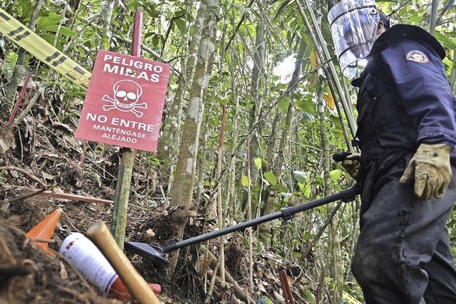 Nirgendwo gibt es mehr Landminenopfer als in der Provinz Antioquia
