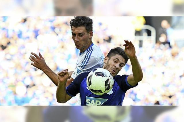 Schalke 04 steht mit dem Rücken zur Wand