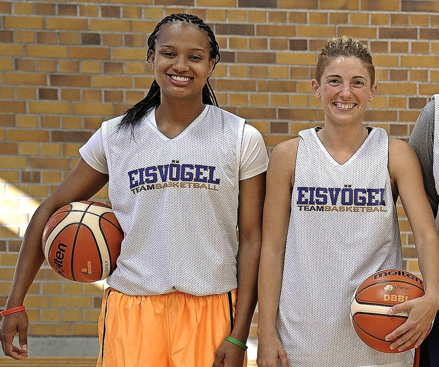 Kristen McCarthy (links) erzielte 16 Punkte für den USC, Jovana Vukoje 15.   | Foto: Keller