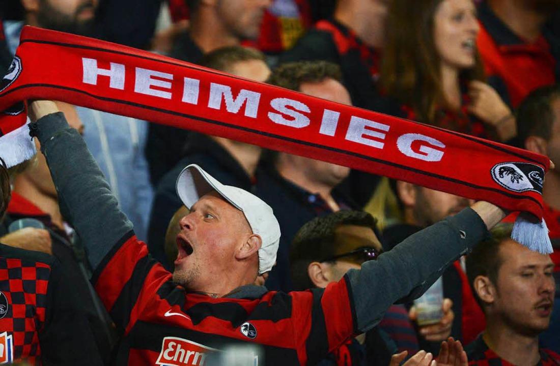 Gibt's gegen die Eintracht die nächsten Heimpunkte für den SC?  | Foto: dpa