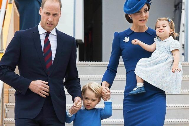 Kate und William besuchen Kanada – mit den Kids