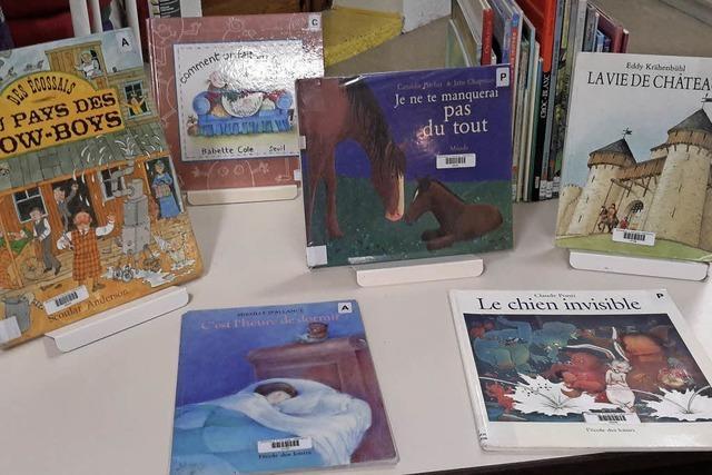 Bücher in fremden Sprachen