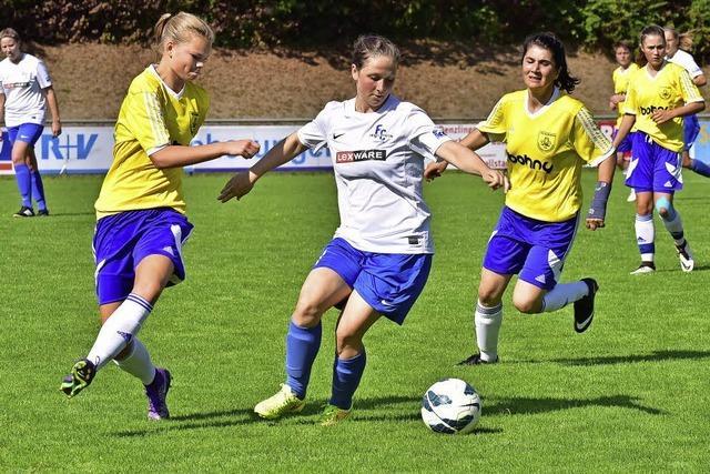 Denzlinger Fußballerinnen bleiben dran