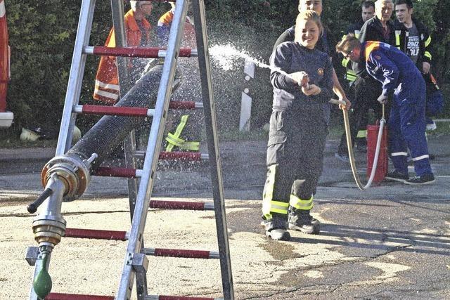 Die Feuerwehr wirbt um Verstärkung