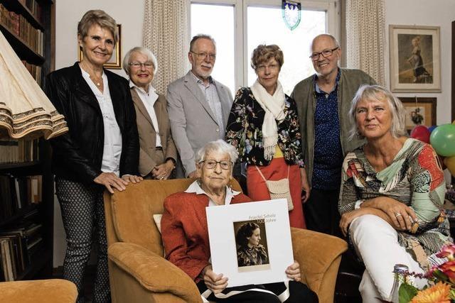 Friedel Scholz ist 100
