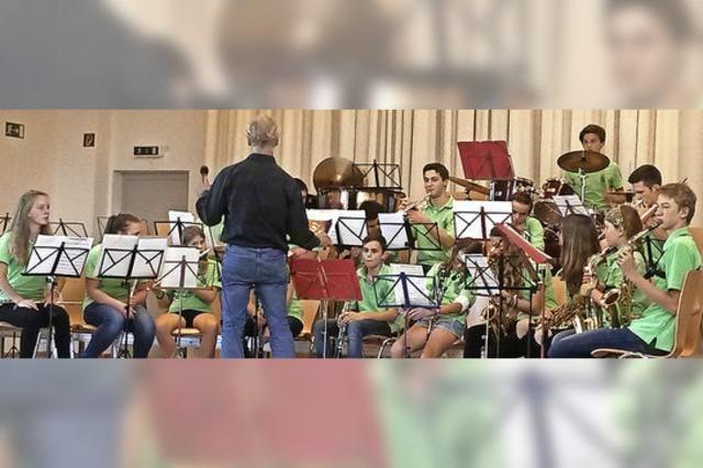 Reichlich Applaus für junge Musiker