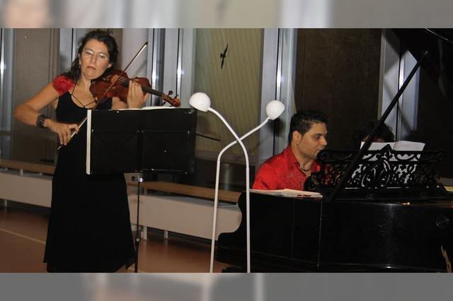 Vollendete Harmonie beim Konzert in der Klinik