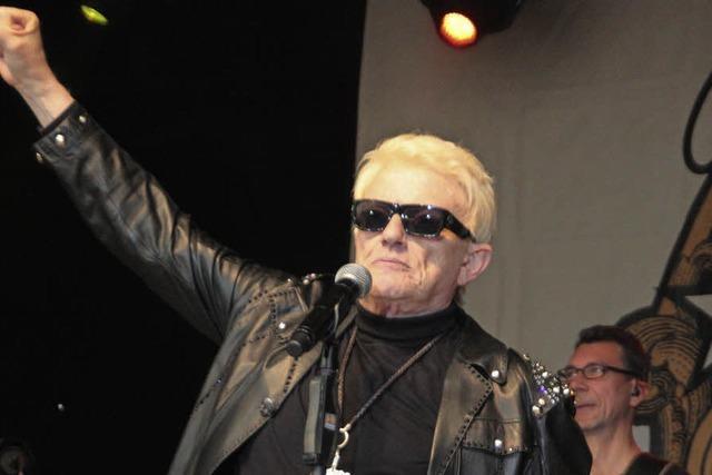 Heino bei der 34. Schlager-Party beim Festival in Schupfart