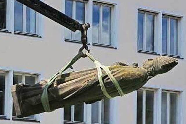 Freiburgs Stadtpatron am Münster ist nicht zu retten
