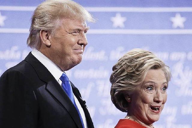 Die besten Tweets des TV-Duells Clinton vs. Trump