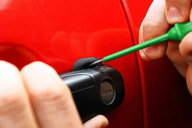 Diebe stehlen Auto im Wert von 800 Euro