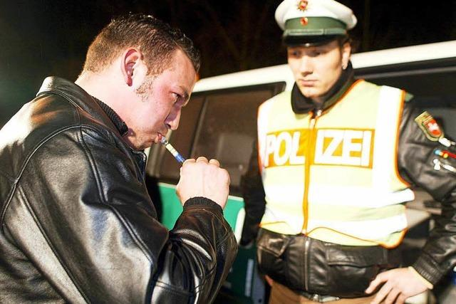 500 Euro Kaution: Alkohol am Steuer in Lörrach
