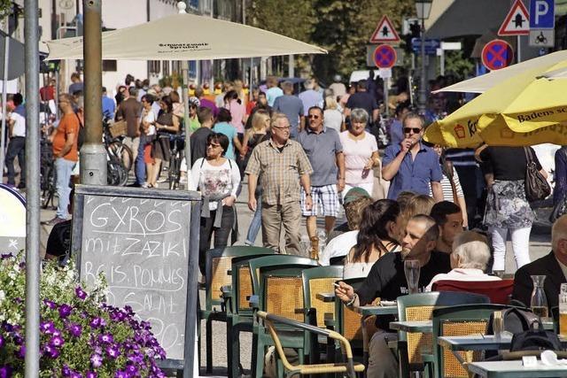 Veranstalter und Teilnehmer ziehen positive Bilanz des Herbstmarkts