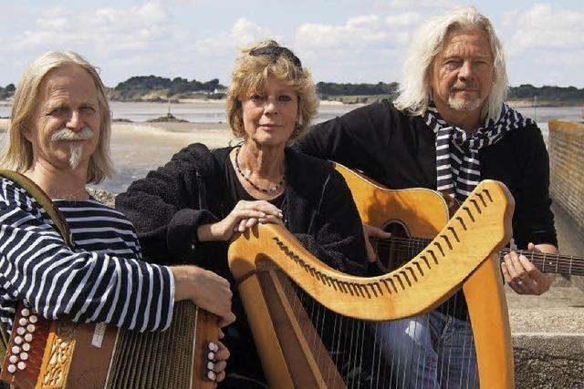 Bretonische Musik mit An Erminig im Lörracher Nellie Nashorn