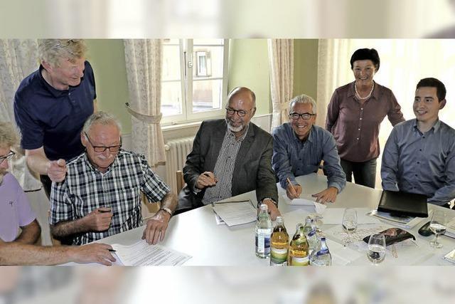 Stadt Endingen übernimmt für die nächsten 25 Jahre Pflege neu geschaffener Lebensräume