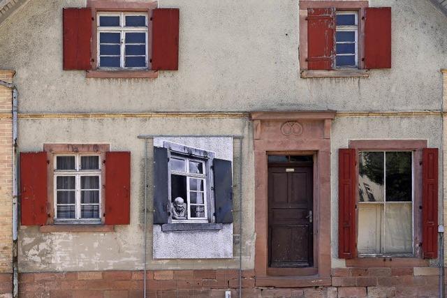 Historische Fotos an Ichenheimer Häusern