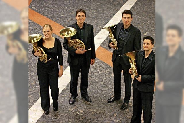 Stuttgarter Waldhornquartett in der Christuskirche