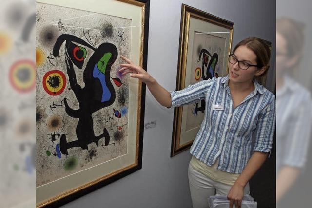 Kunsthalle Messmer zeigt noch bis Ende November Werke von Joan Miró