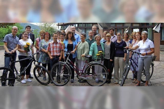 Mit dem Fahrrad zum Landratsamt