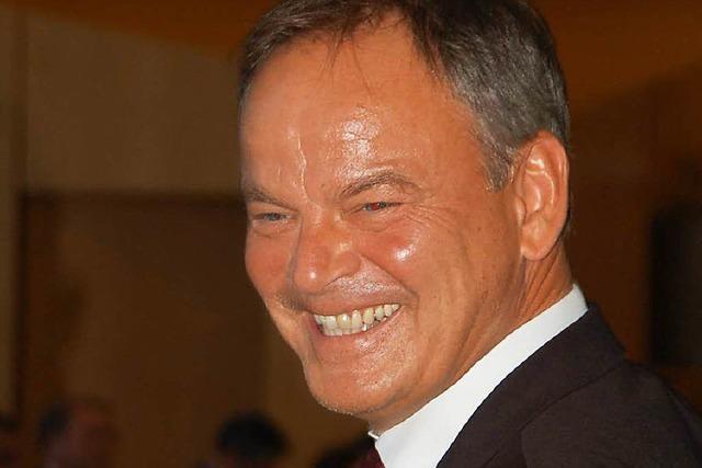 Landrat Frank Scherer mit überragendem Ergebnis wiedergewählt