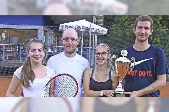 Rekord auf dem Tennisplatz