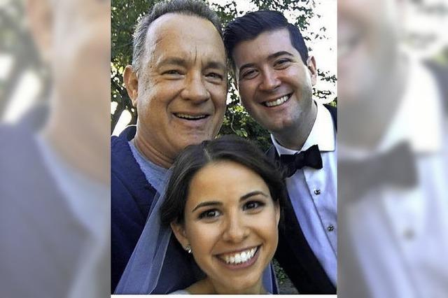 Hochzeitsfoto mit Hanks