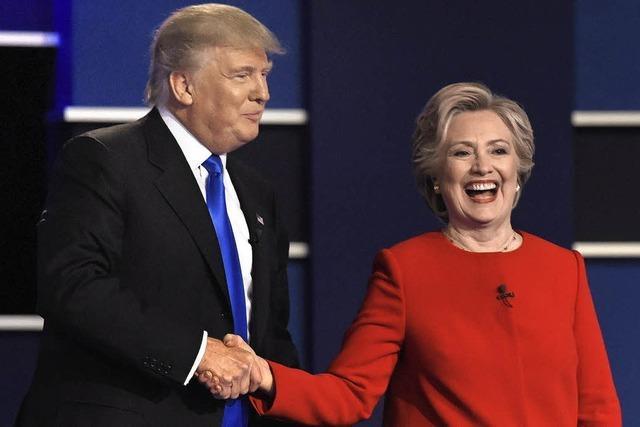 Hillary Clinton entscheidet Debatte für sich
