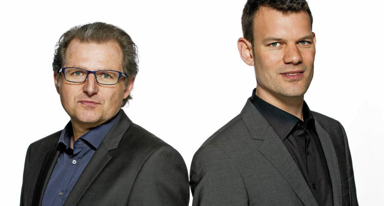 Johannes Mössinger und Thomas Lähns (von links)  | Foto: Pro