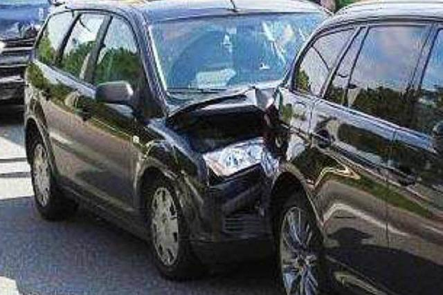 Mann nach Unfall in Lörrach leicht verletzt