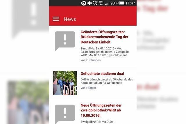 News auf die Campus-App