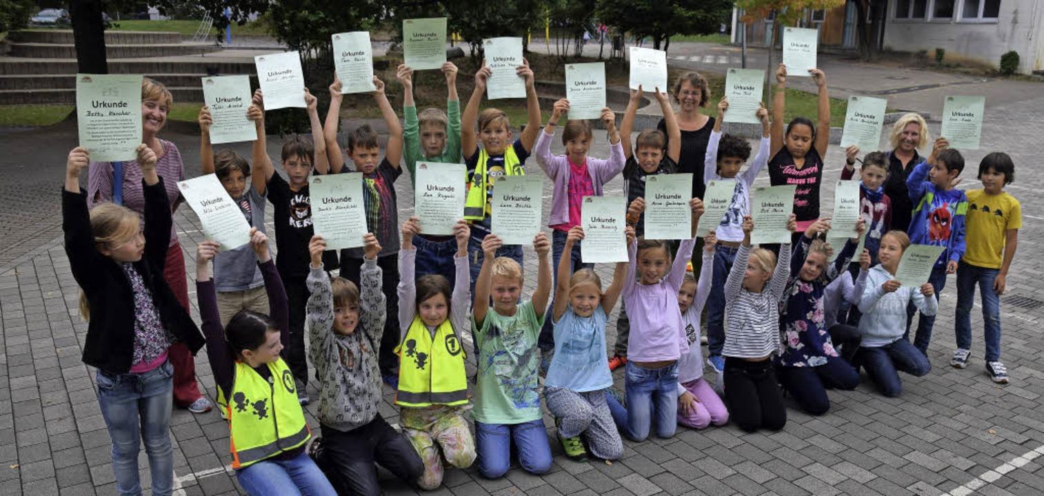 Ab sofort  im Einsatz: die neuen Strei...r Michael-Friedrich-Wild-Grundschule.   | Foto: Beatrice Ehrlich