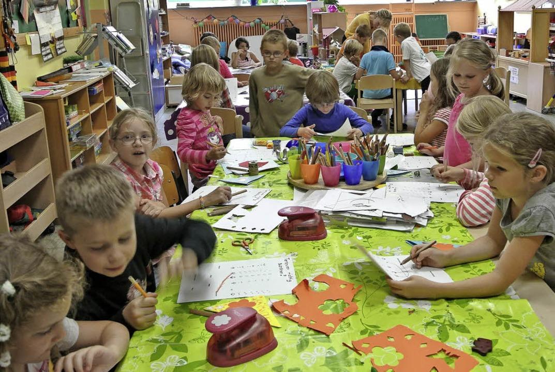 """Einblick in die """"AWO-kids""""... Scheffelschule in Rheinfelden Herten     Foto: ZVG"""