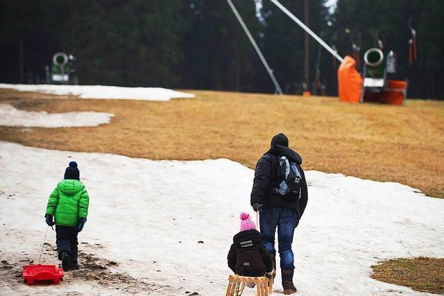 Immer weniger Schneetage – auch im Schwarzwald