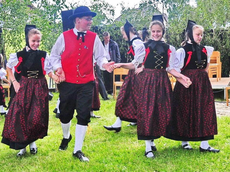 Auch die Jugendgruppe der Trachtentanz...ird beim Kreistrachtenfest dabei sein.  | Foto: Stefan Pichler