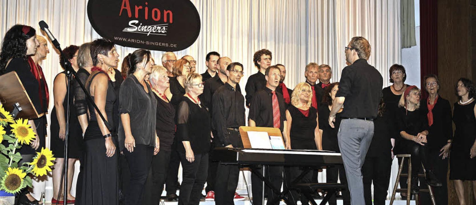 Die Arion Singers luden zum Konzert ins Pfarrzentrum Waldkirch ein.  | Foto: Fotos: Karin Heiss