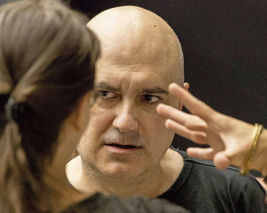 Calixto Bieito bei den Proben  | Foto: Rainer Muranyi