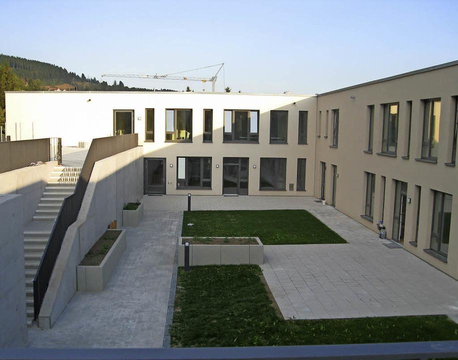 Jede Etage hat ihren eigenen Innenhof.  | Foto: Kuhn-Schönbeck