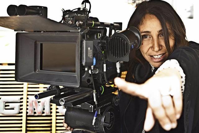 Filmemacherin Haifaa al Mansour mit