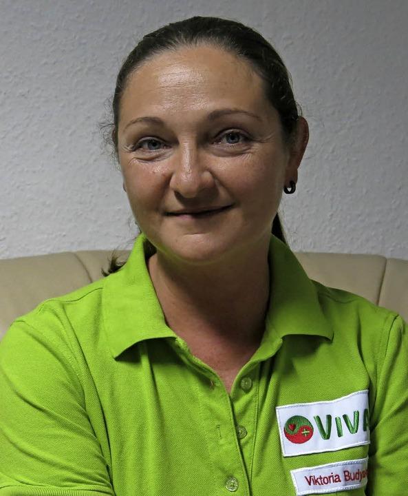 Viktoria Budyakova hat sich bestens integriert  | Foto: Georg Voß