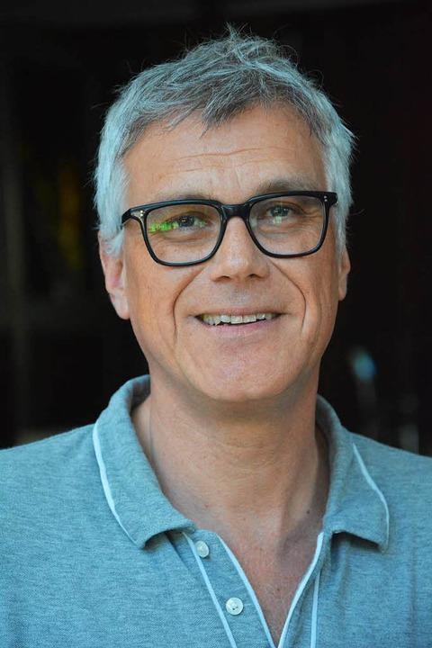 Markus Muffler, der Geschäftsführer des Burghofs in Lörrach  | Foto: Barbara Ruda