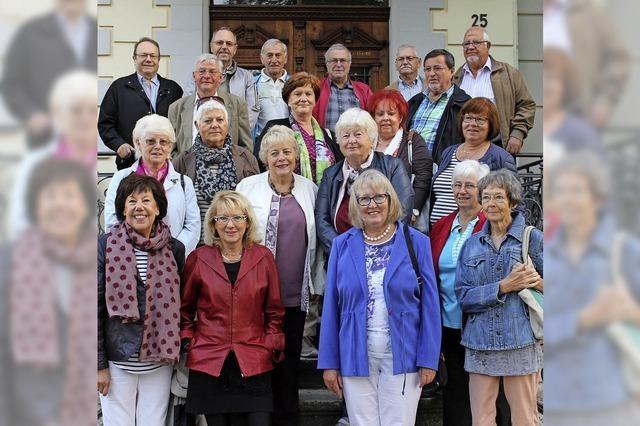 Senioren feiern Klassentreffen