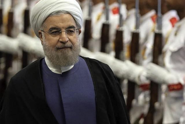 Wirtschaftsminister Gabriel besucht den Iran