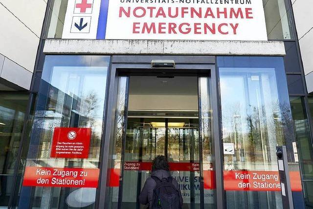 Immer mehr Patienten im Universitäts-Notfallzentrum
