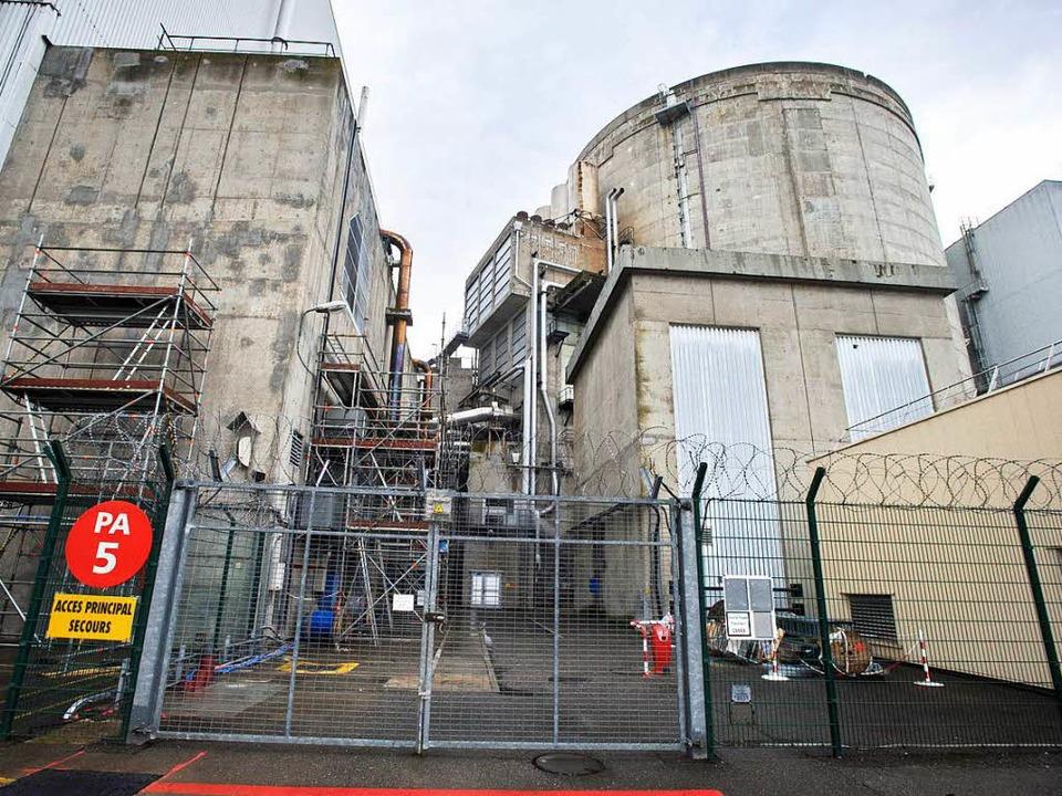 Stets ein Ärgernis: Das Atomkraftwerk Fessenheim  | Foto: AFP